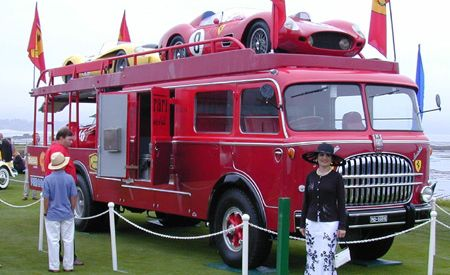 1957 Fiat Tipo 682 R Ferrari Works Transporter
