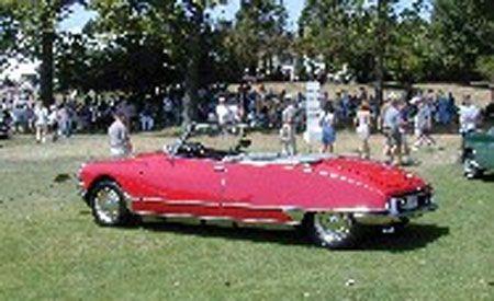 1966 Citroen DS Henri Chapron Cabriolet