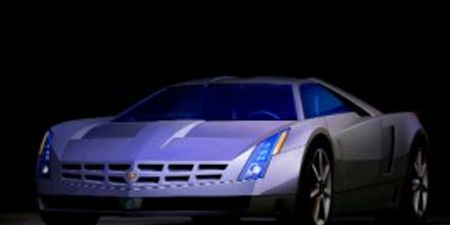 With The Cien Sports Car Concept It Seems Cadillac S Edgy Art And Science Design Has Given Way To An Origami Styling Aesthetic