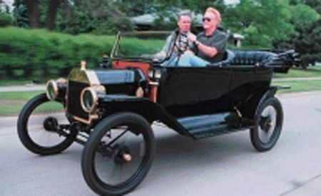 First Drive of Model T!