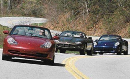 Jaguar XKR vs. Panoz Esperante, Porsche 911 Carrera