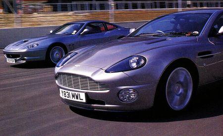 Aston Martin V-12 Vanquish vs. Ferrari 550 Maranello