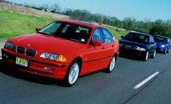BMW 330xi vs. Subaru Impreza WRX, Audi S4