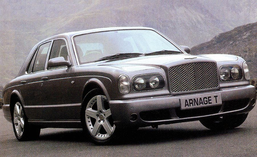 2002 Bentley Arnage T Road Test Review Car And Driver