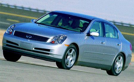 Infiniti G Sedan Review Car And Driver
