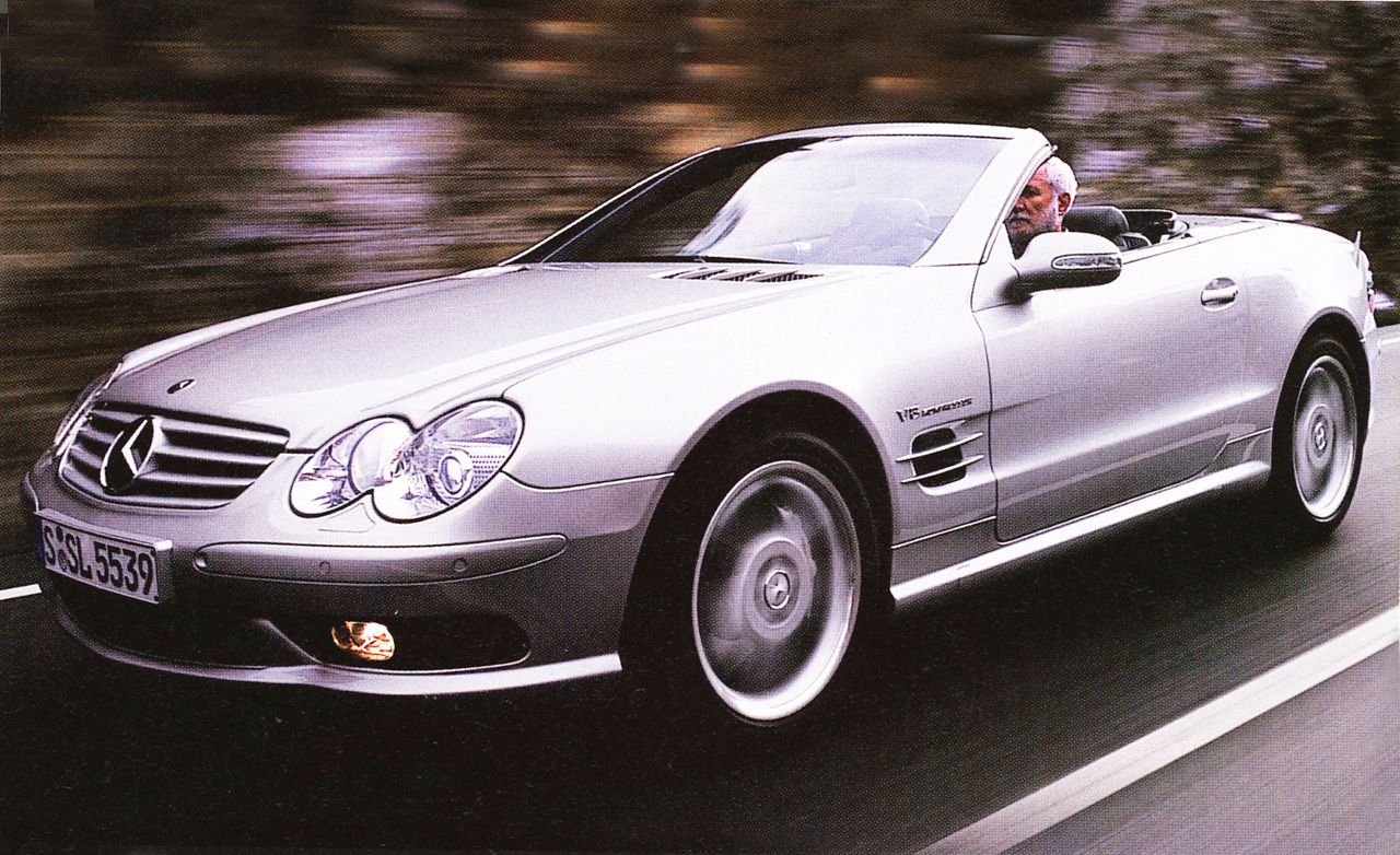 Sl55 amg reviews
