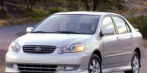 toyota corolla road test review car  driver