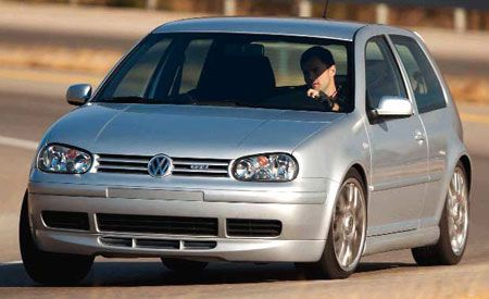 Volkswagen Golf GTI 25th-Anniversary Edition