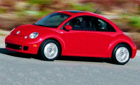 Volkswagen New Beetle Turbo S
