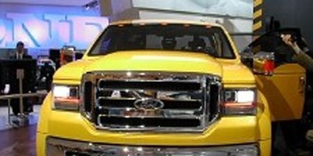 Take A Close Look At The F 350 Tonka Because It S Hint Of What To Come For Next Generation Ford Series Pickup Wred In Vibrant Yellow Paint