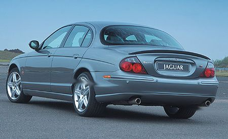 2003 jaguar s type r