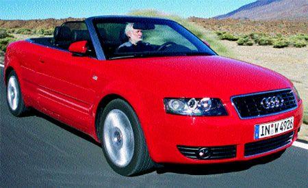 Audi A Cabriolet - Audi a4 convertible