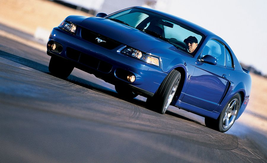 2003 ford svt mustang cobra road test review car and driver