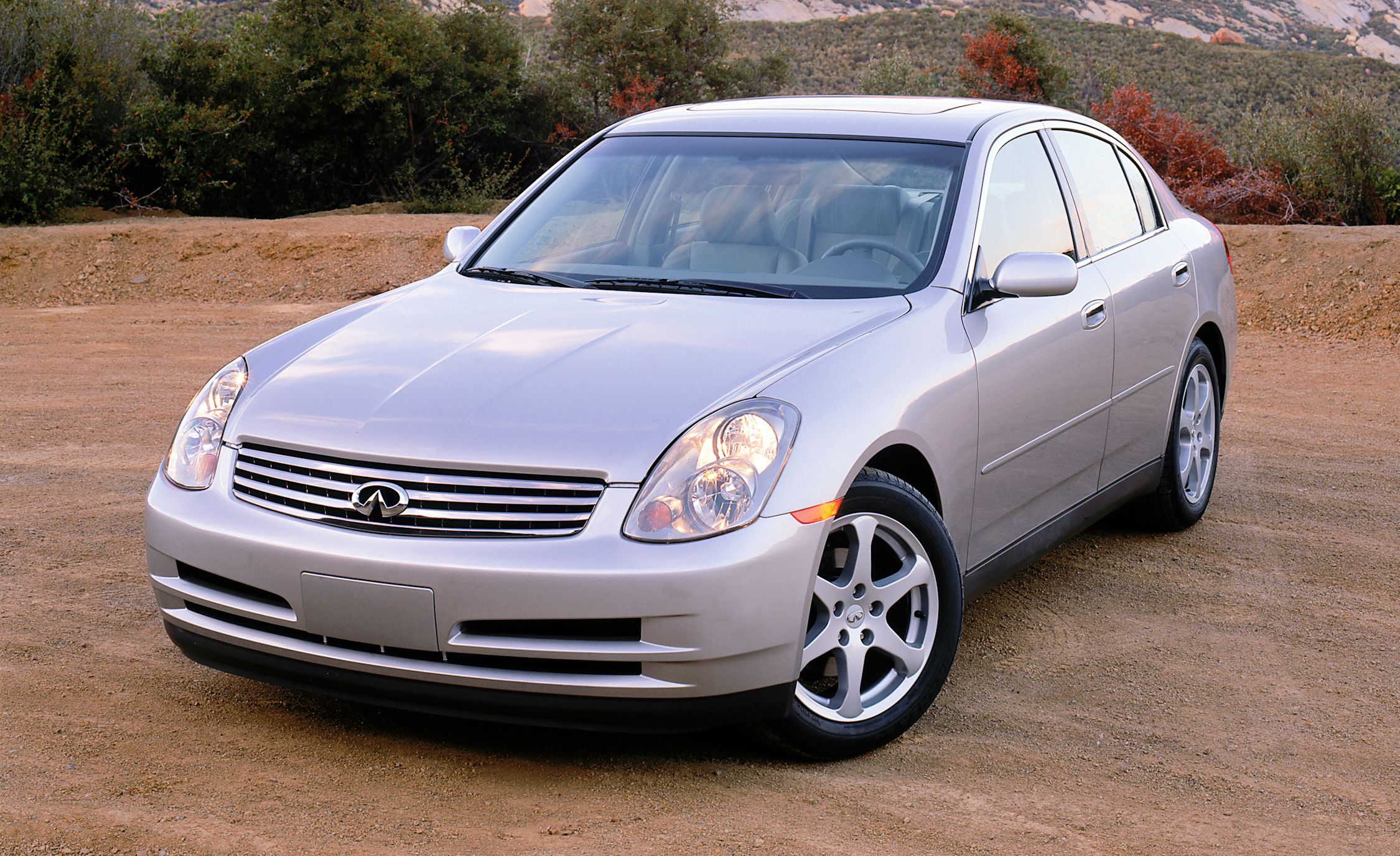 Infiniti g reviews infiniti g price photos and specs car and 2003 infiniti g35 vanachro Image collections