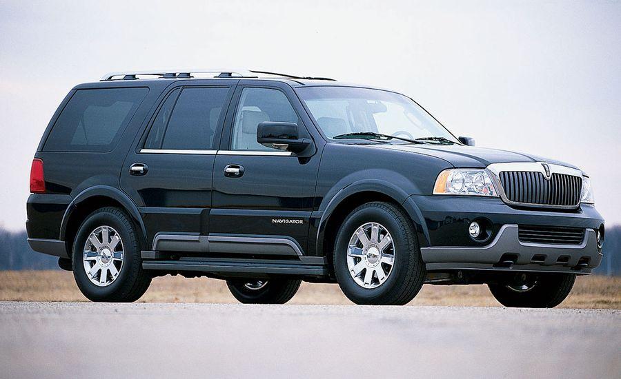 2003 lincoln navigator road test reviews car and driver. Black Bedroom Furniture Sets. Home Design Ideas