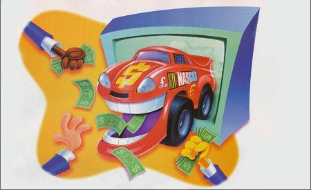 TV Racing's Mantra: 'Show Me the Money!'