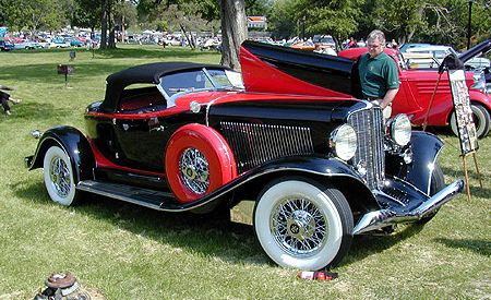 1933 Auburn V-12 Salon Speedster