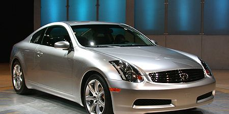 Think Of Infiniti S New Sports Car As A Nissan 350z With Nicer Interior Better Warranty And Room For Two Toddlers The G35 Coupe Wheelbase