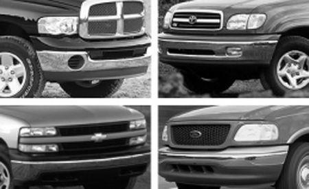 Chevy Silverado vs. Dodge Ram, Ford F-150, Toyota Tundra