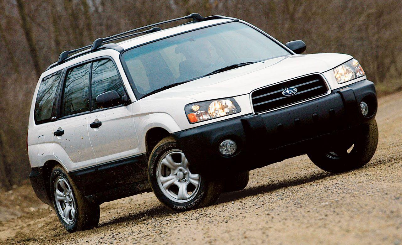 Subaru forester reviews subaru forester price photos and specs 2003 subaru forester 25x vanachro Gallery
