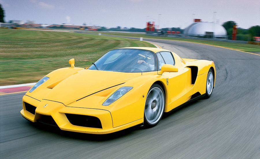 Ferrari Enzo First Drive Review Car And Driver