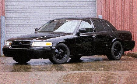 Propane V-10 Ford Crown Victoria Police Interceptor