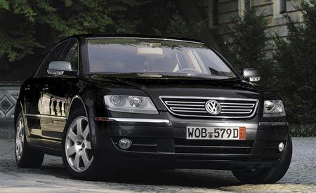 Volkswagen Phaeton 4motion W 12