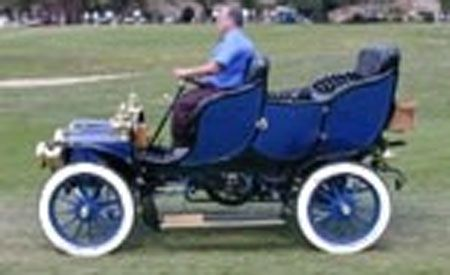 1908 Cadillac Tulipwood Bodied Victoria Touring