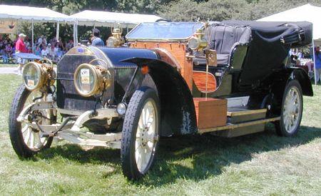1908 Fiat Touring Car
