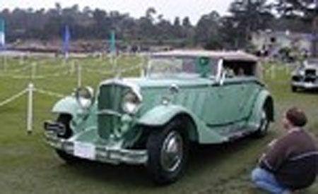 1930 Maybach Zeppelin DS7 Spohn Cabriolet
