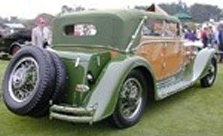 1932 Maybach Zeppelin DS8 Spohn Cabriolet
