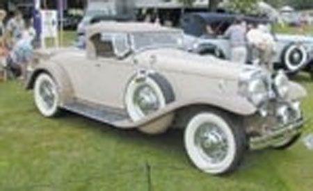 1933 Stutz Roadster
