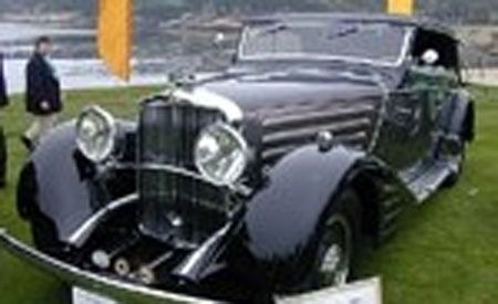 1934 Maybach Zeppelin DS8 Spohn Cabriolet 4-Seat
