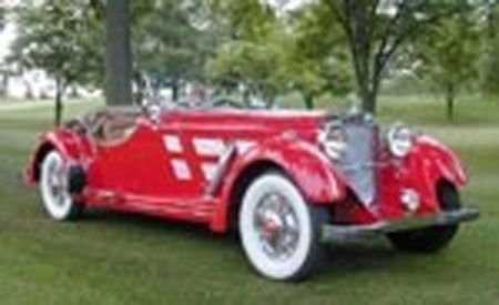 1934 Mercedes-Benz 500K Roadster
