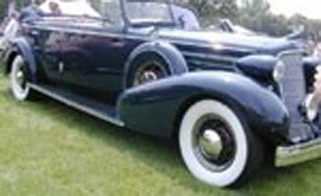 1935 Cadillac 370D Fleetwood 4-door Convertible