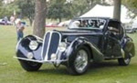 1936 Delahaye Coupe Competition by Figoni et Falaschi