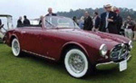 1952 Ferrari 212 Europa 2+2 Cabriolet