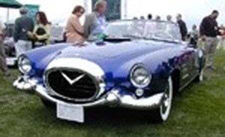 1954 Cadillac Series 62 Pinin Farina Coupe