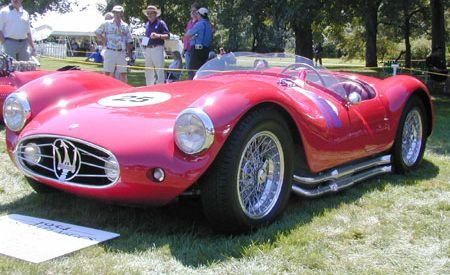 1954 Maserati A6GCS Fantuzzi Spyder