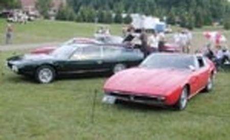 1967 Maserati Ghibli and 1969 Lamborghini Espada