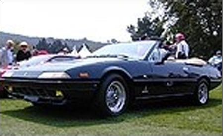 1983 Ferrari 400i Straman Convertible