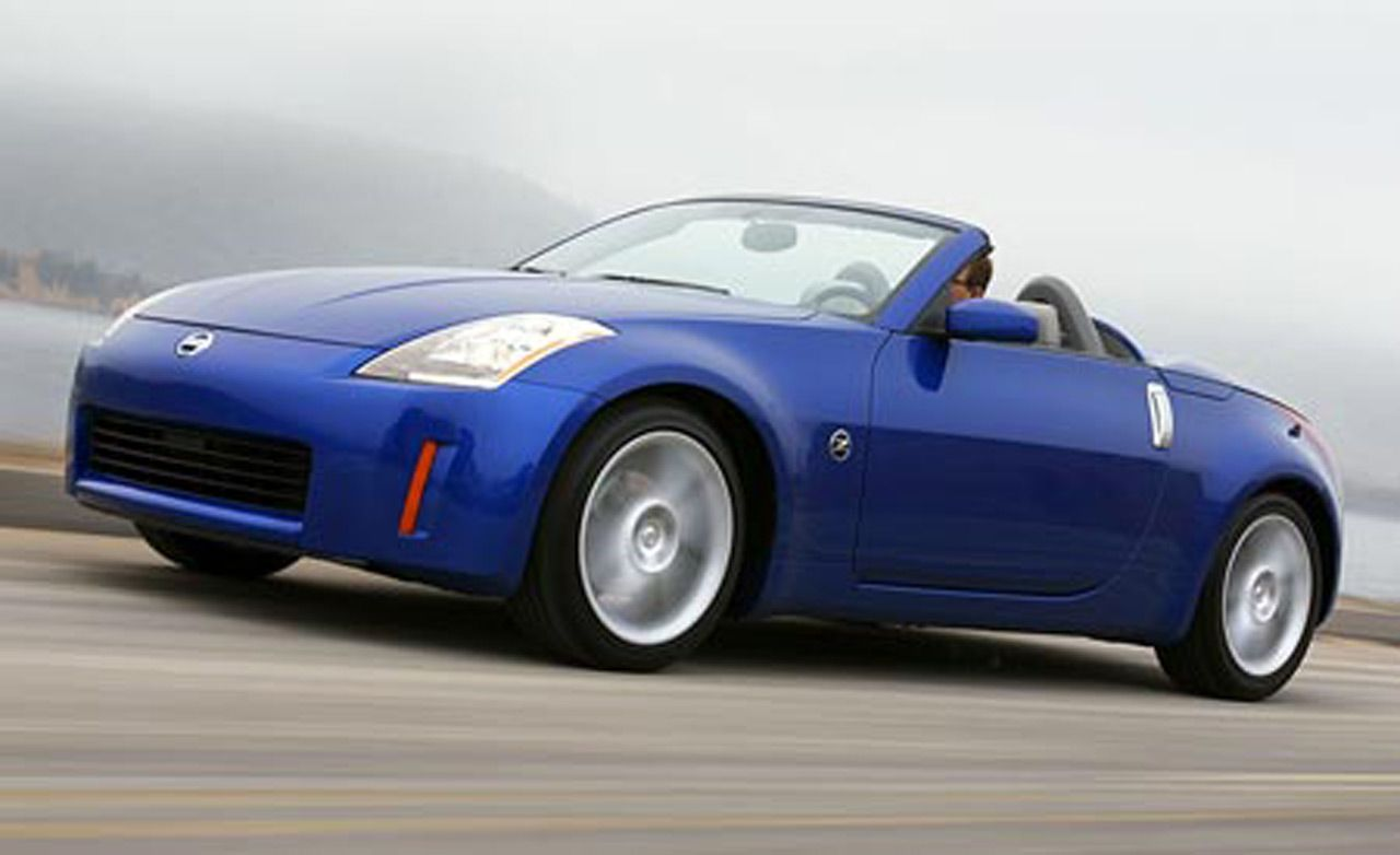 2004 nissan 350z convertible | car news | news | car and driver