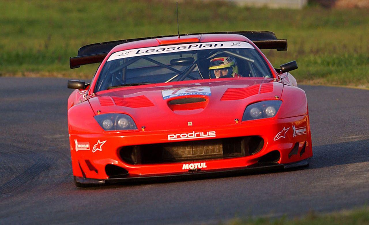 Prodrive Ferrari 550 Maranello Race Car