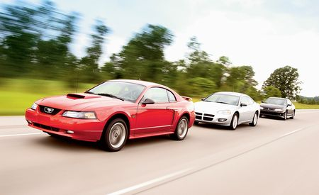 2002 Chevrolet Monte Carlo SS vs. Ford Mustang GT, Dodge Stratus R/T