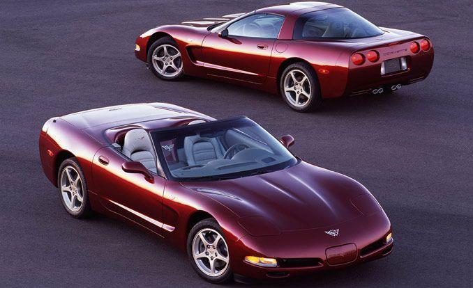 2003 Chevrolet Corvette 50th-Anniversary Special Edition