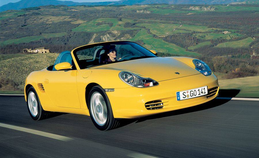 2003 porsche boxster road test review car and driver. Black Bedroom Furniture Sets. Home Design Ideas