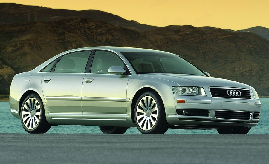 2004 audi a8 first drive review reviews car and driver. Black Bedroom Furniture Sets. Home Design Ideas