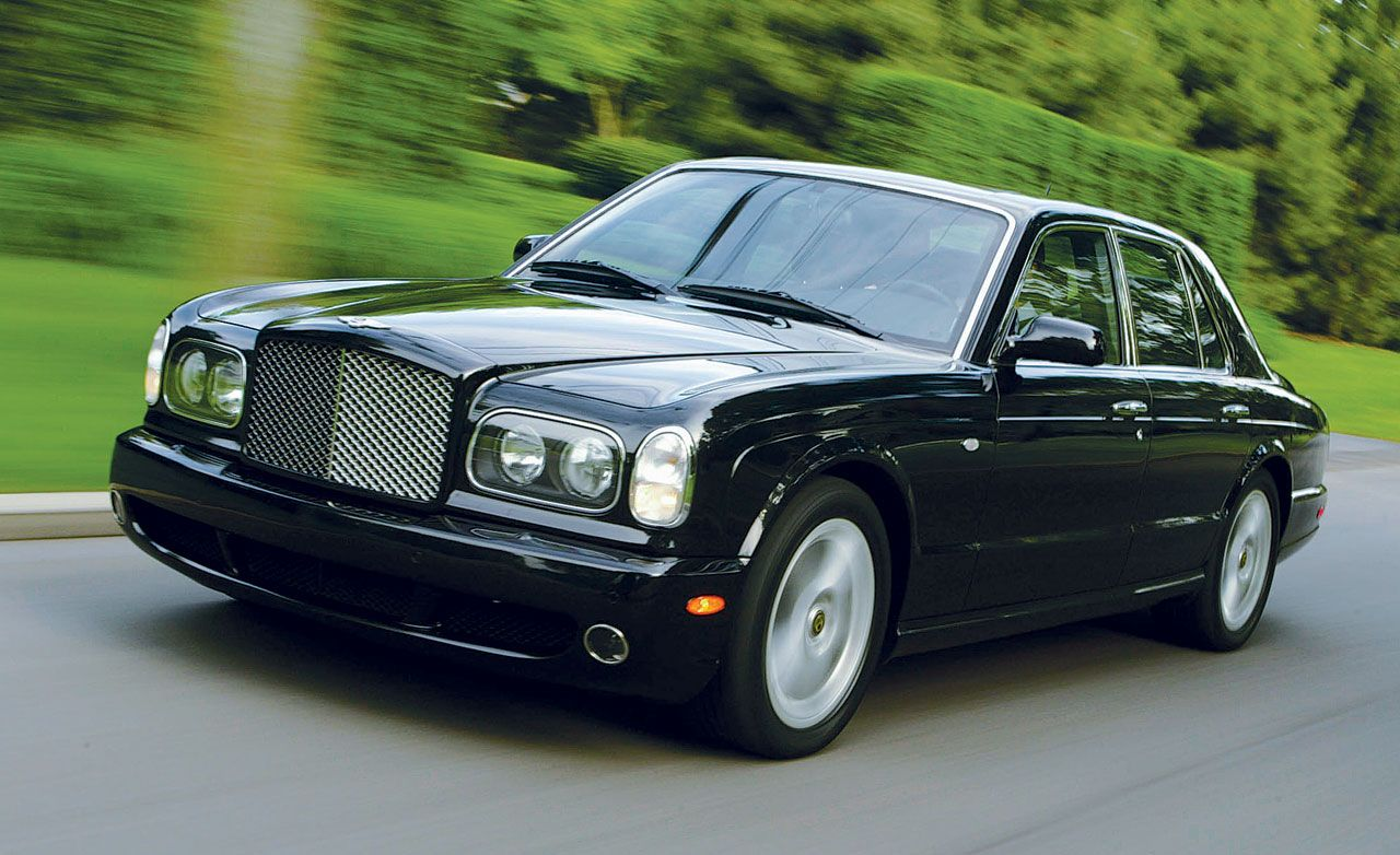 Bentley Arnage T Road Test Reviews Car And Driver