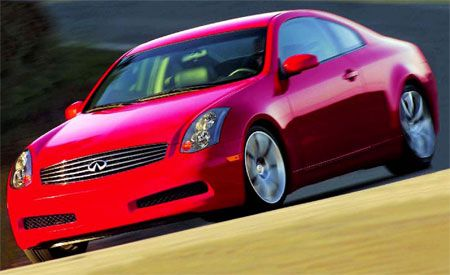 Infiniti G35 Coupe  First Drive Review  Reviews  Car and Driver