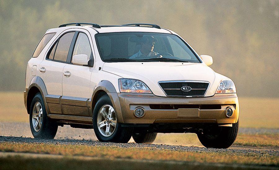 Kia Sorento EX  Road Test  Reviews  Car and Driver